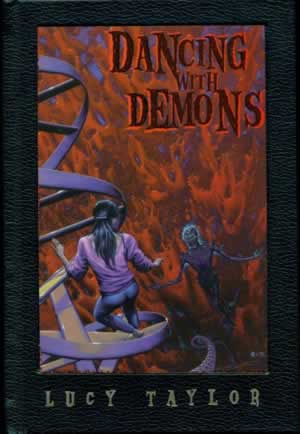 Dancing with Demons, a dark fantasy novel by Lucy Taylor
