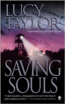 Saving Souls: a dark fantasy novel by Lucy Taylor
